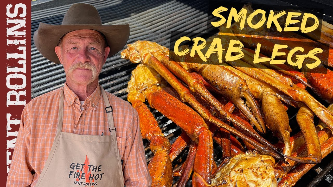Smoked Crab Legs   Bonus Smoked and Seared Scallops