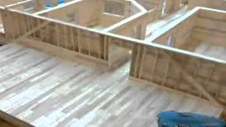 8 - Popsicle House Build Time Lapse: Building Roof And Room Above Garage