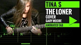GARY MOORE - THE LONER - Animated Tab