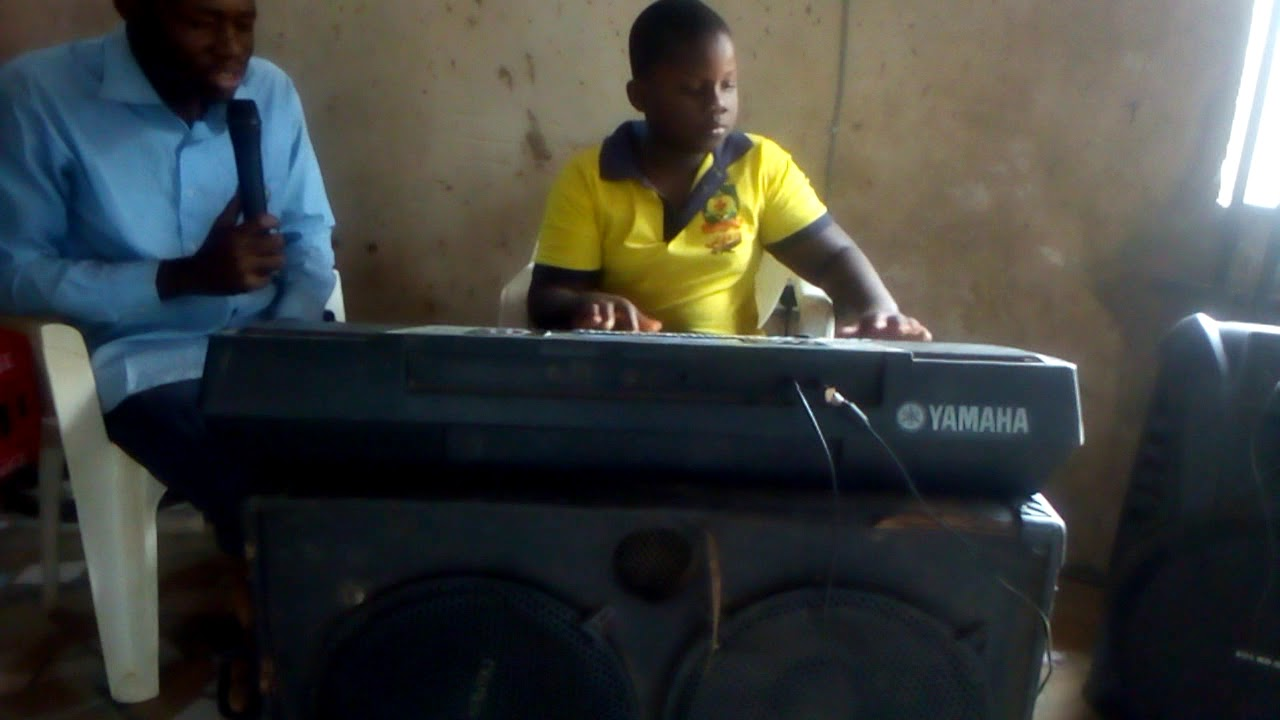 Download 9 years old @david on the keyboard with @manofgrace