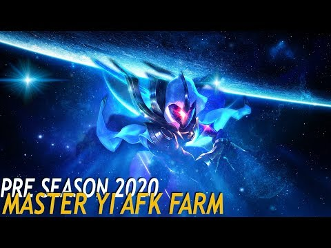 PRE TEMPORADA 2020 | MASTER YI | AFK FARM HASTA QUE PIERDA?