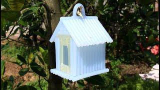 Bangun rumah burung menggunakan lem panas