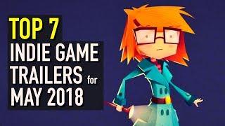 Baixar Top 7 Best Looking Indie Game Trailers - May 2018