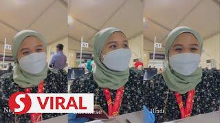 Multilingual volunteer at Bukit Jalil PPV goes viral