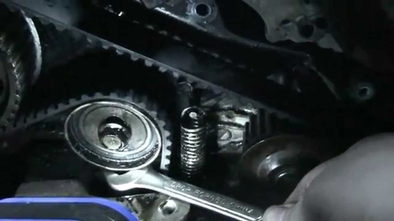hight resolution of how to install a timing belt on a toyota camry 1991