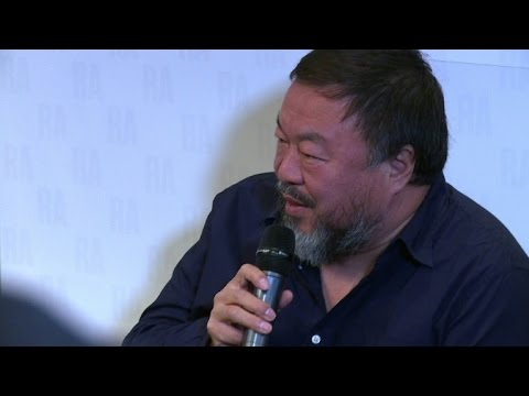 China's Ai Weiwei demands Western action on refugees