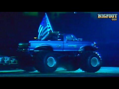 BIGFOOT #6 Car Crush from 1988 - Andy Brass - BIGFOOT 4x4, Inc.