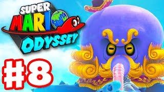 Super Mario Odyssey - Gameplay Walkthrough Part 8 - Seaside Kingdom! (Nintendo Switch)