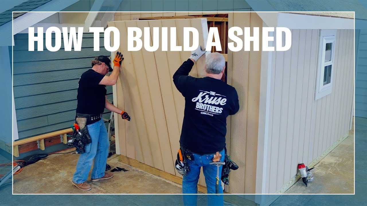 Download How to Build a Shed with LP® Outdoor Building Solutions®