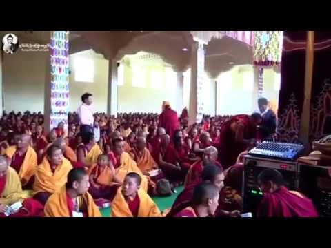 DS monks and high lama inTibet 2016