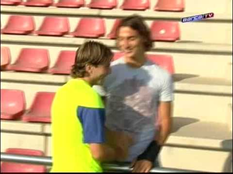 Ibra Meets With Fellow Team