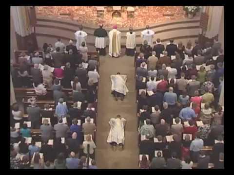 Ordination Mass - Litany of the Saints