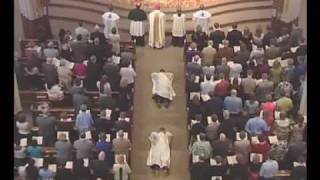 Ordination Mass - Litany of the Saints