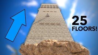 TALLEST MAN-MADE structure in RUST | RAIDING a SKYSCRAPER!