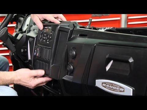 Polaris Ranger Dash Mounted Audio Kit Installation