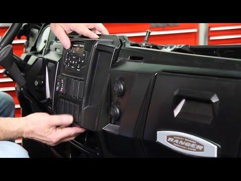 Polaris Ranger Dash Mounted Audio Kit Installation (Installation