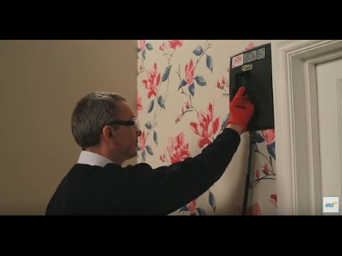 How to use a wallpaper stripper | HSS Hire