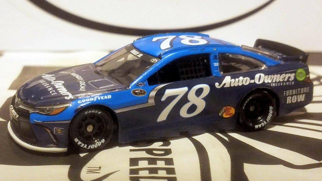 RARE Martin Truex 2016 Auto-Owners Darlington #78 Camry 1//64 NASCAR
