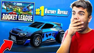 I BET 50,000 V BUCKS NON - NOUVEAU - ROCKET LEAGUE MODE AT FORTNITE! incroyable