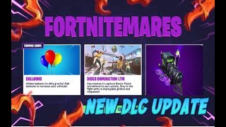 FORTNITE NEW DLC UPDATE BALLOON COMING SOON & NEW DARK ENGINE GLIDER CHALLENGE COMING OUT TUESDAY