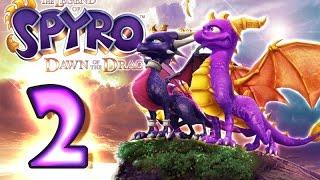 The Legend of Spyro: Dawn of the Dragon Walkthrough Part 2 (X360, PS3, Wii, PS2) 100% Twilight Falls