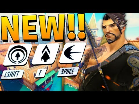 *NEW* OVERWATCH MAP AND NEW HANZO ABILITIES!?