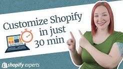 How to Customize Your Shopify Store Design in 2019