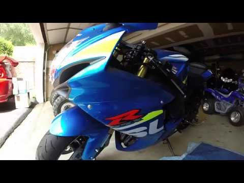 How to change oil and filter on a gsxr 750