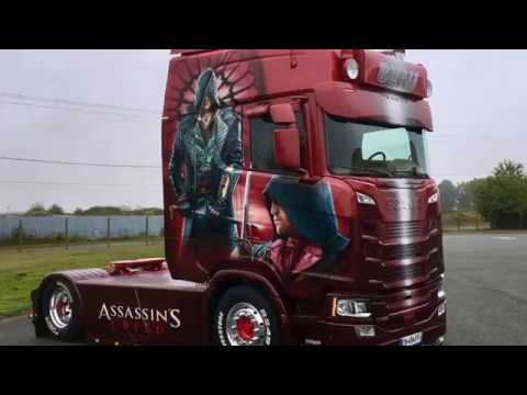 2017 Scania S500 V8 Special Edition Assassin S Creed