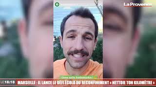"""Le 18:18 - Marseille : il lance avec succès """"Nettoie ton km"""" le challenge écolo du confinement"""