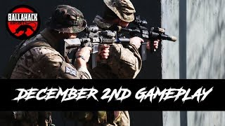 Airsoft Gameplay from Ballahack December 2nd