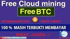 FREE CLOUD MINING  BTC MASIH TERBUKTI MEMBAYAR #FREE MINING BTC 2020