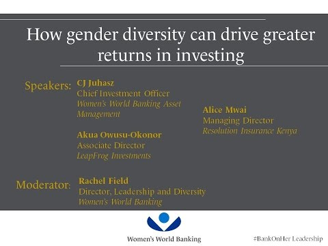 WEBINAR: How gender diversity can drive greater returns in investing