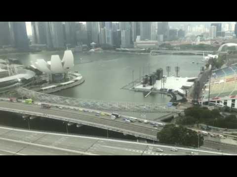 View of singapur city