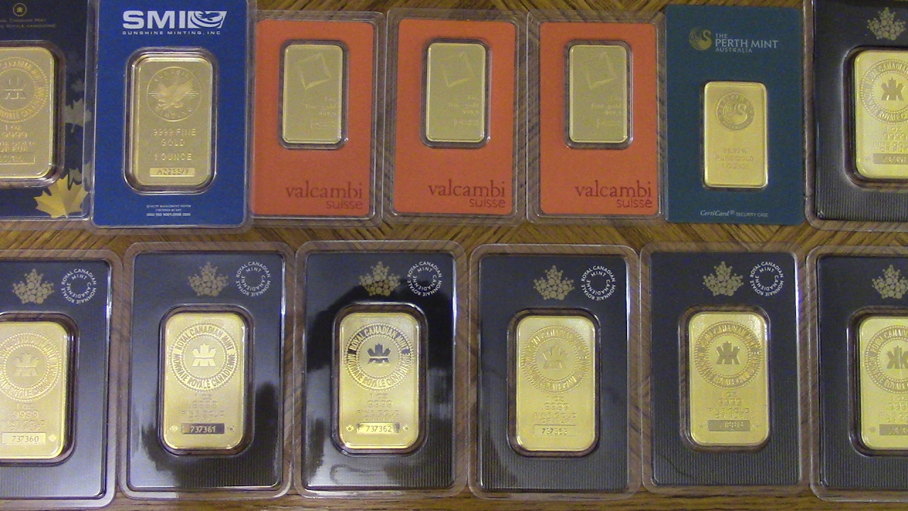 13 Ounce Gold Bullion Collection Hd Youtube