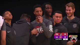 Portland Trail Blazers vs Los Angeles Lakers - Full Game Highlights - March 05, 2018