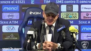 Le parole del tecnico azzurro Giuseppe Iachini al termine di Empoli-Udinese