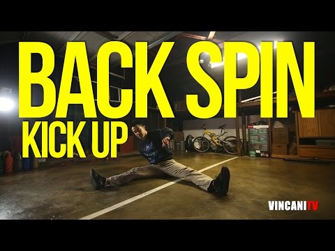 How To Breakdance | Backspin to Kick Up | Beginners Guide