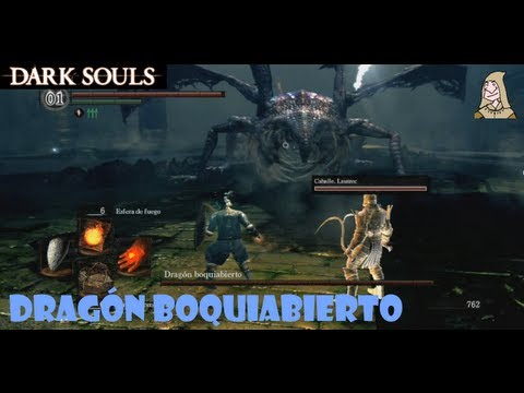 Dark Souls guia: DRAGON BOQUIABIERTO - Trucos para matar al boss de las profundidades || EP 11.5