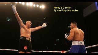 Porky Russ Blasts Tyson Fury matchmaking and team