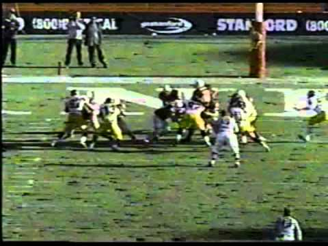 """Casey Moore's """"Run for the Roses"""" in the 102nd (1999) Big Game"""
