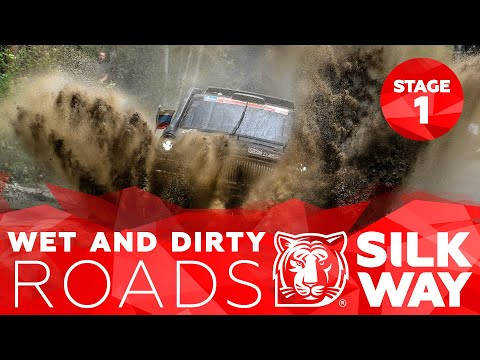 Wet and Dirty Roads | Benavides Major Upset | Silk Way Rally 2019🌏 - Stage 1 (RUS)