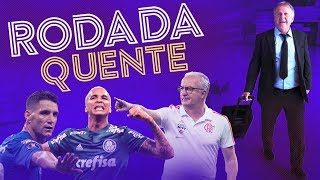GOLEADA DO FLA, PALMEIRAS LÍDER E THIAGO NEVES SOFRE AMEAÇAS | Canal Zico 10
