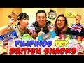 Filipino-Americans Try British Snacks (Marmite, Jaffa Cakes, etc.)