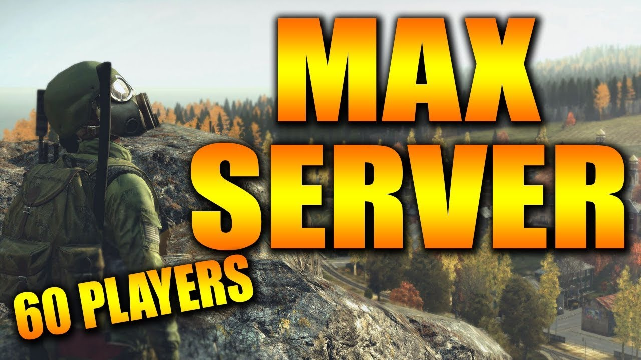 MAX PLAYER SERVER INSANITY DayZ Xbox One Gameplay - Can We Survive?
