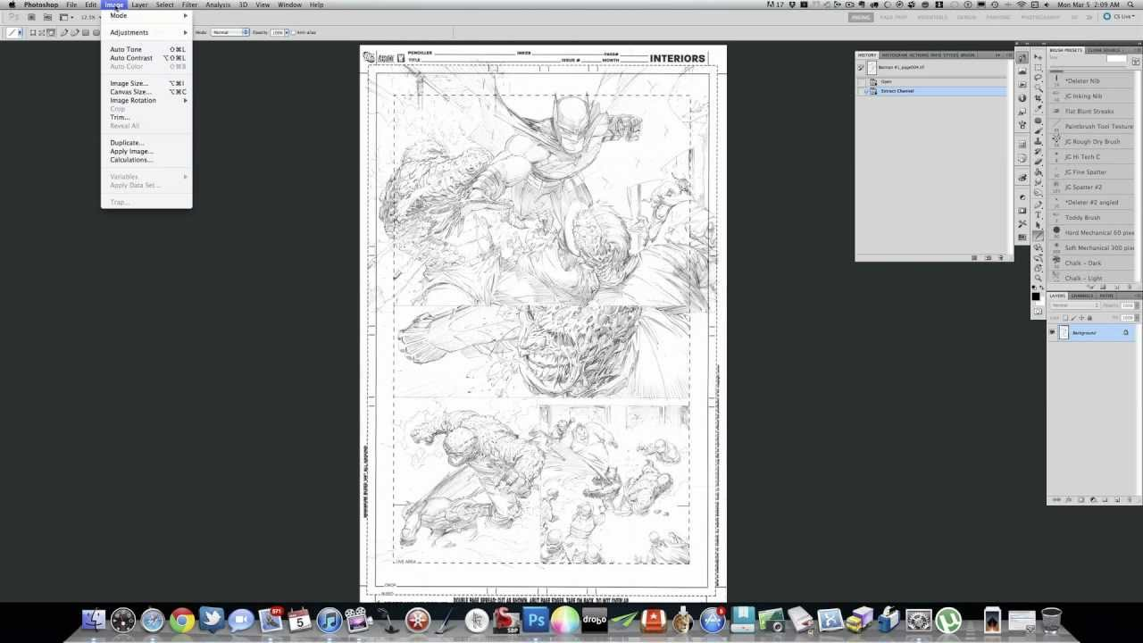 Line Art Converter Software : Converting pencils to blue line youtube