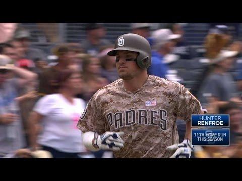 COL@SD: Renfroe unleashes a solo home run...