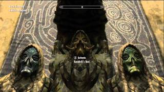 Baixar Skyrim - Konahrik & Wooden Mask - Dragon Priest Masks Reward