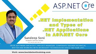 .NET Implementation and Types of .NET Applications in ASP.NET Core