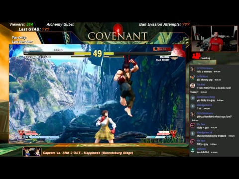 LOW TIER GOD STREAM: STREET FIGHTER 5 AE THE REBUILD